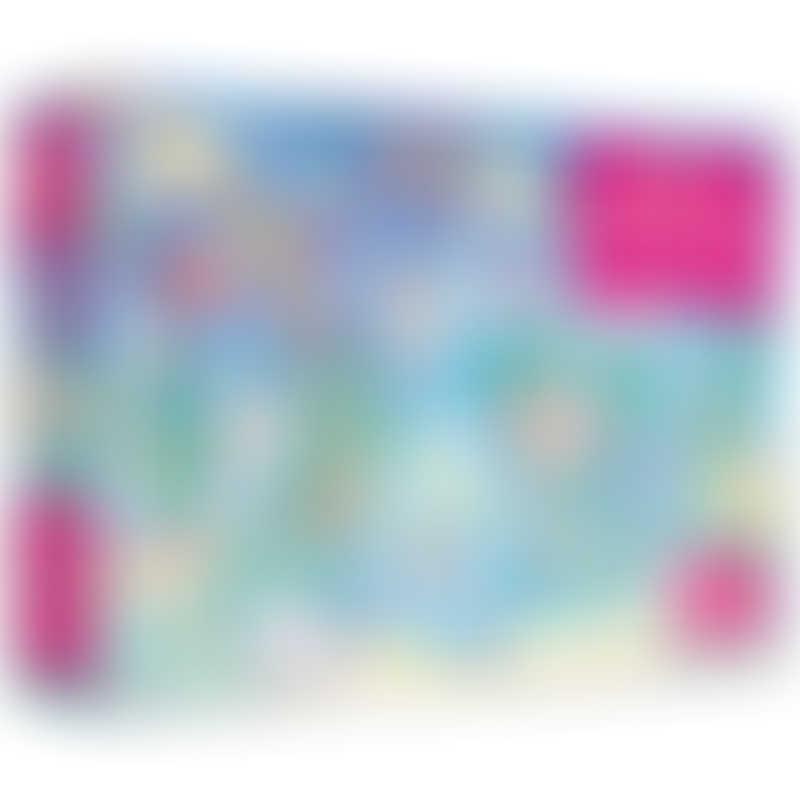 Books Book & Jigsaw - Unicorns 100 Pieces