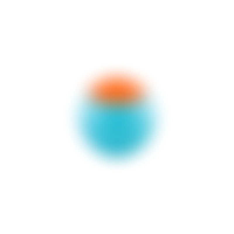 Boon Snack Ball Container - Blue/Orange