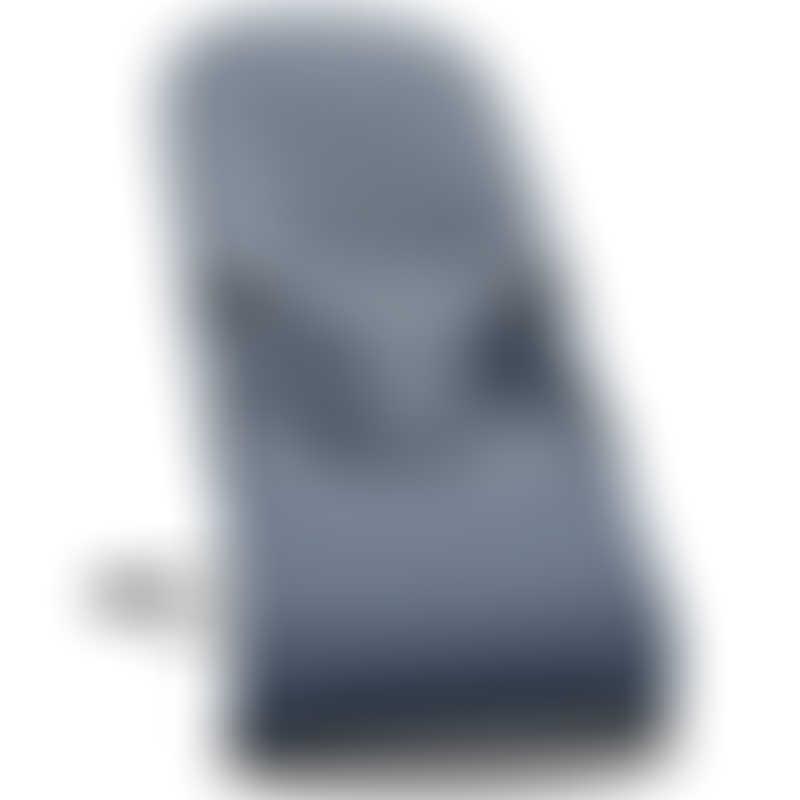 BabyBjorn Bouncer Bliss, 3D Jersey - Dove Blue