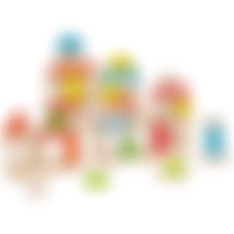 EverEarth Building Blocks (50 Pieces)