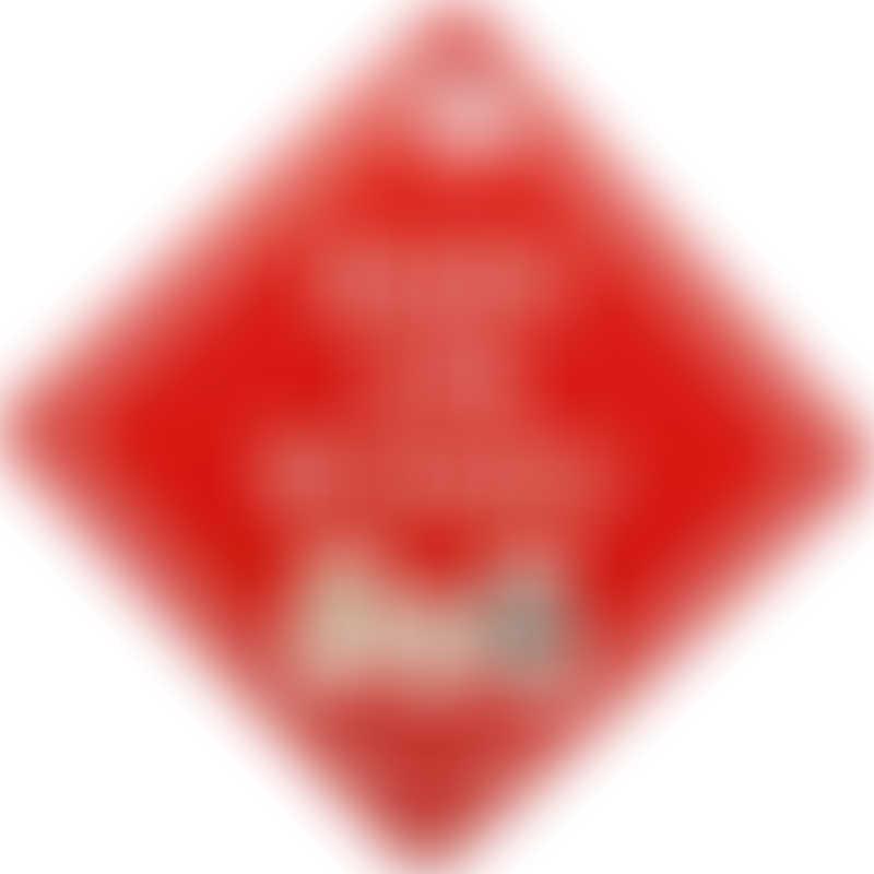 Snapkis Car Sign - Llama Family