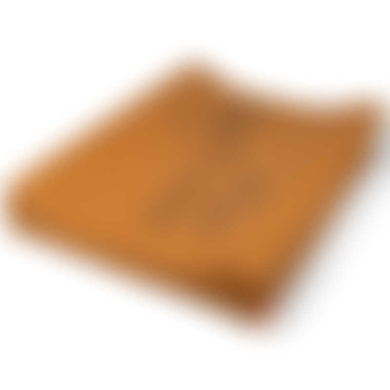Done by Deer Changing Pad Easy Wipe - Raffi - Mustard
