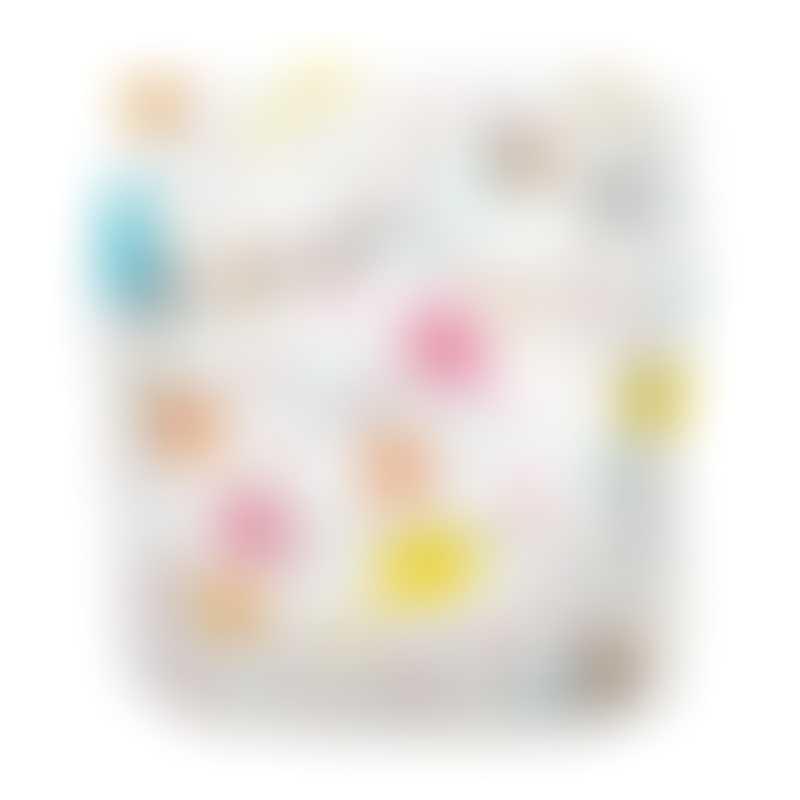 Charlie Banana 1 Diaper 2 Deluxe Inserts - Diva Ballerina (One Size Hybrid AIO)