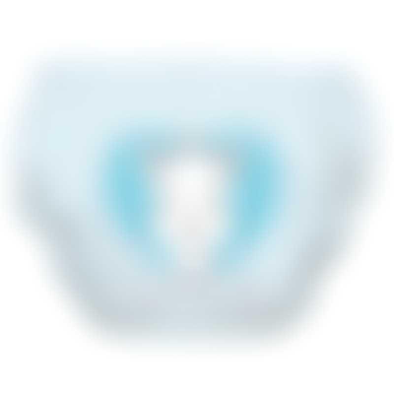 Charlie Banana 2-in-1 Swim Diaper & Training Pants - Sophie Pencil Blue Heart
