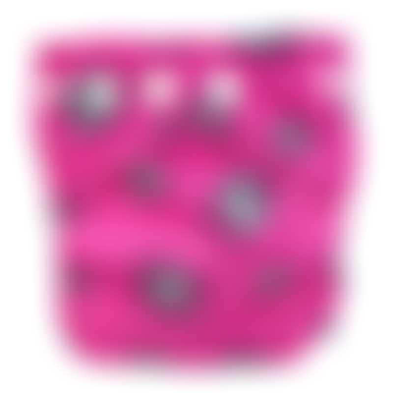 Charlie Banana 1 Diaper 1 Insert - Matthew Langille Robot Girl - X-Small