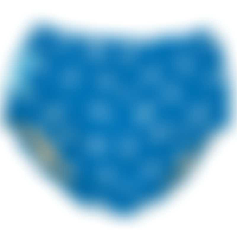 Charlie Banana 2-in-1 Swim Diaper & Training Pants - Fish Sticks Blue