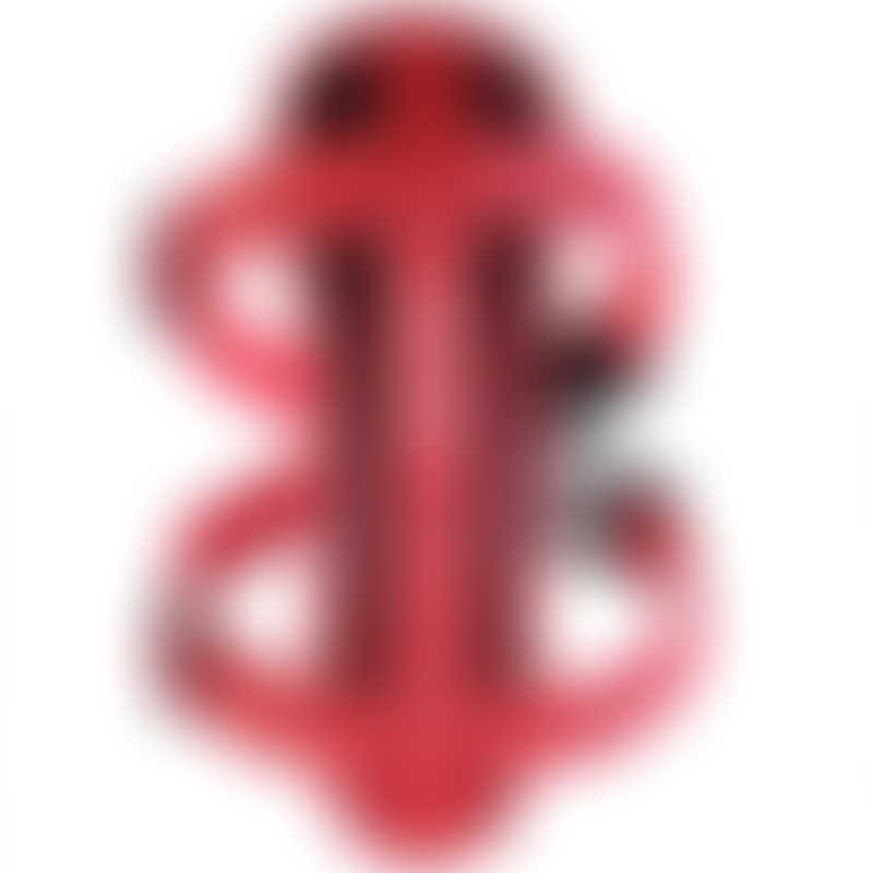EzyDog Chest Plate Dog Harness - Red - Medium