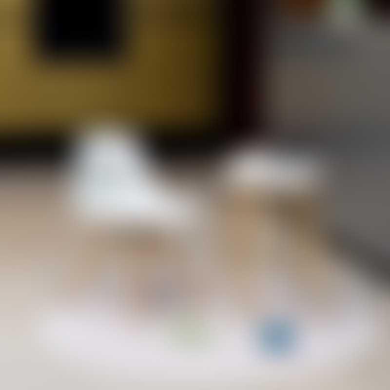 Toddlekind Clean Wean Mat ø105cm - Jungle Collection - Beige
