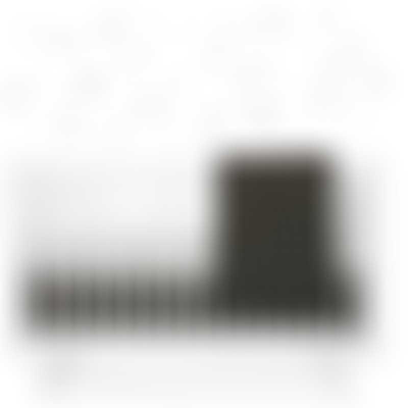 Babyletto Crib Skirt - Tuxedo Monochrome
