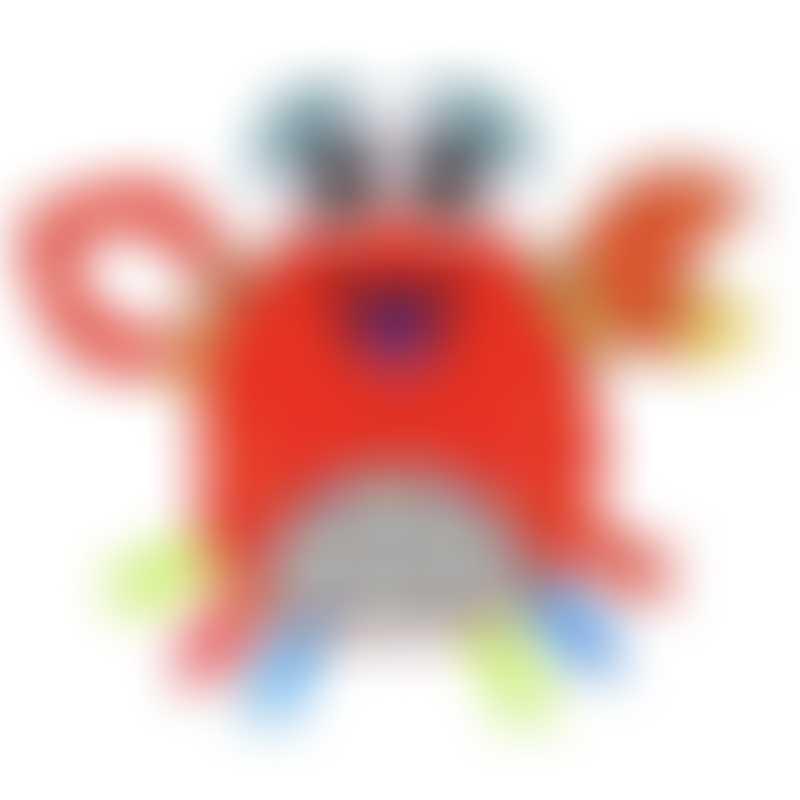 Lamaze Crinklies Teether - Jack the Crab 0m+