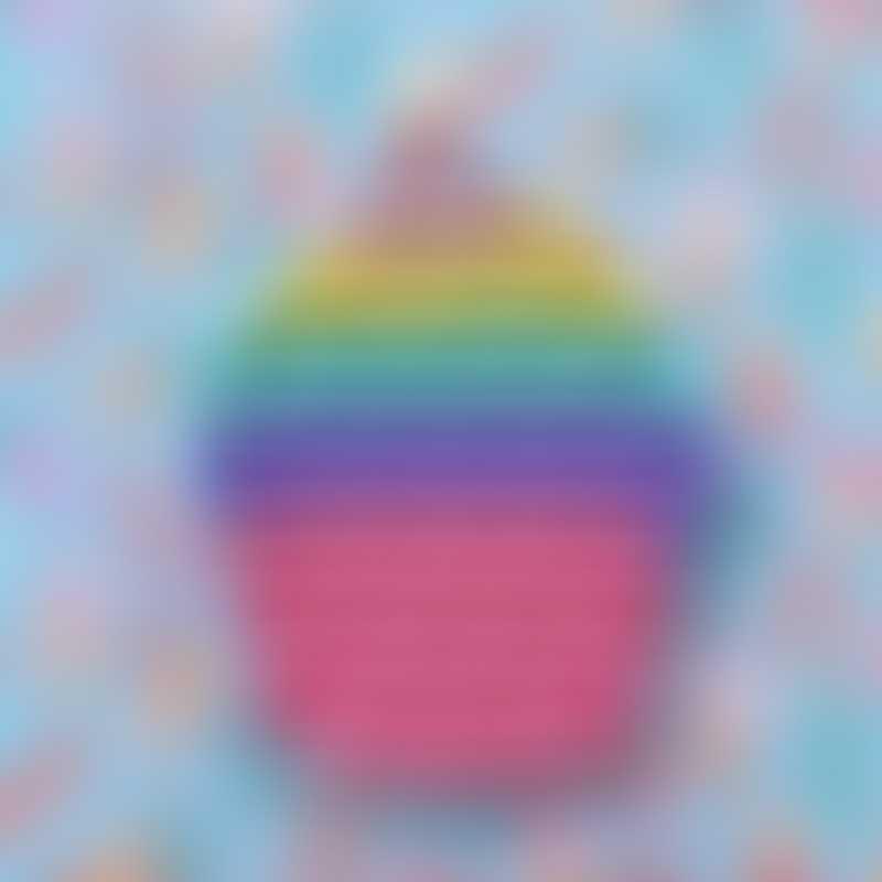 Little Caleb Cupcake Pop It Fidget Toy