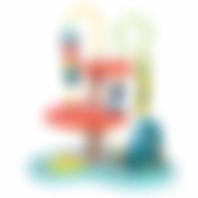 Moulin Roty Dans La Jungle Bead Maze Activity Toy 27x16x29.5cm