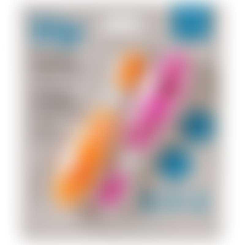 CogniKids Dip® 幼兒學習匙羹 - 橙色配桃紅色