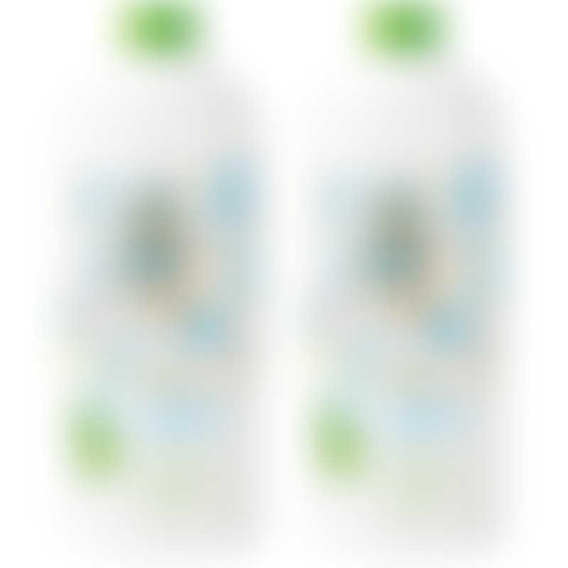 babyganics Dish & Bottle Soap Fragrance Free Refill (2 x 946ml) VALUE PACK