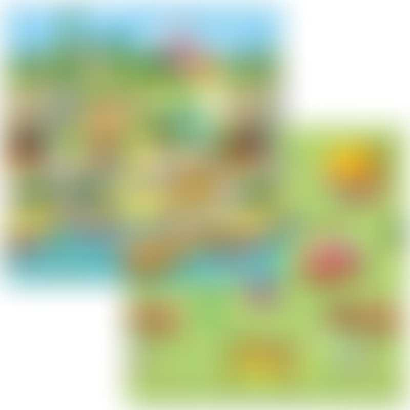 Baby Care Double Sided Playmat - Small 140x140cm - Story World