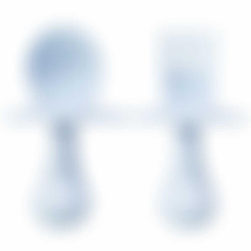 Grabease Ergonomic Utensils - Light Blue