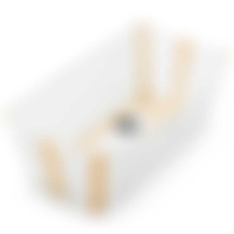 Stokke Flexi Bath - White Yellow