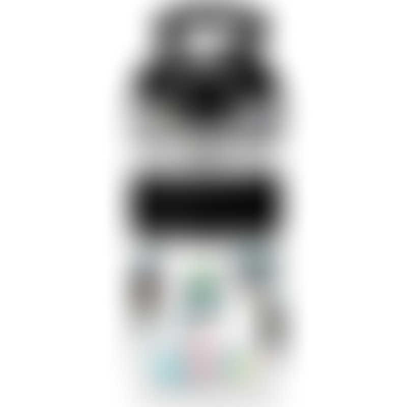 Nuby Flip-It Reflex Baby Straw Drink Cup 12oz/360ml - Grey