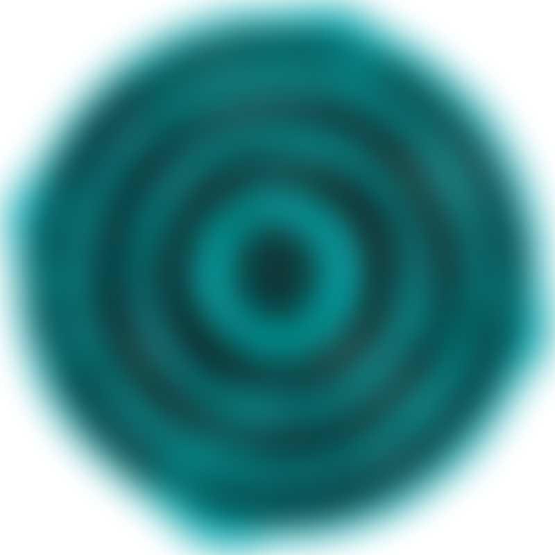 "Outward Hound Fun Feeder Slo-Bowl Large/Regular - Turquoise 12.5x2.3"""