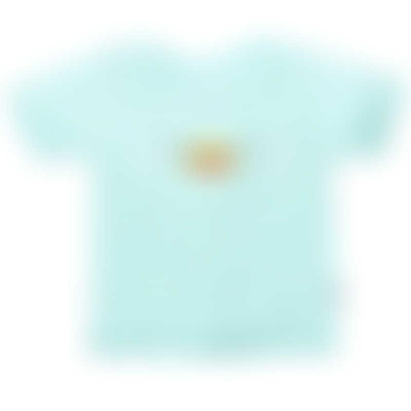 Ganas Kids Hou Duckie Short Sleeve Tee - Apple Green