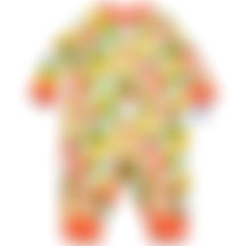 Ganas Kids Lucky Little Mandarin Long Sleeve Romper