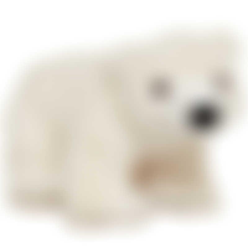 Melissa & Doug Glacier Polar Bear Cub Stuffed Animal