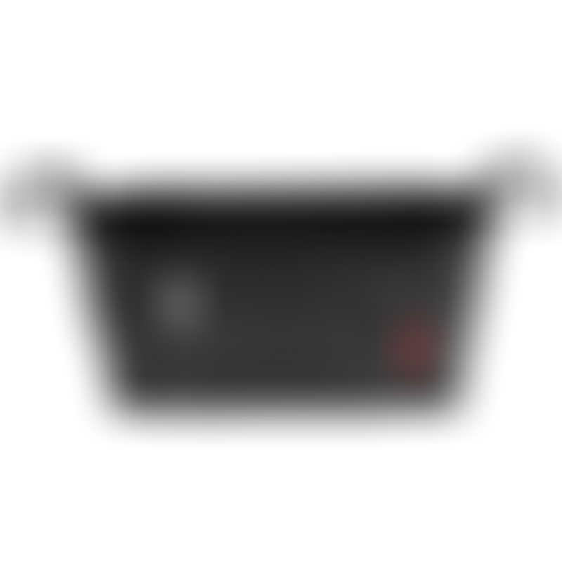 Skip Hop Grab & Go Stroller Organizer - Black & Grey Stripe