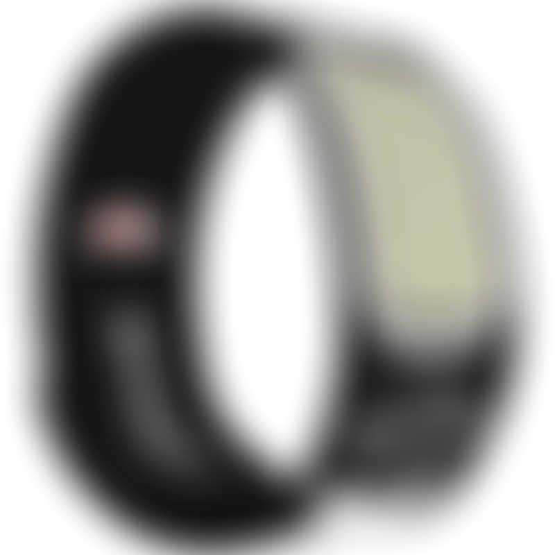 Parakito Graphic Sports Wristband Black