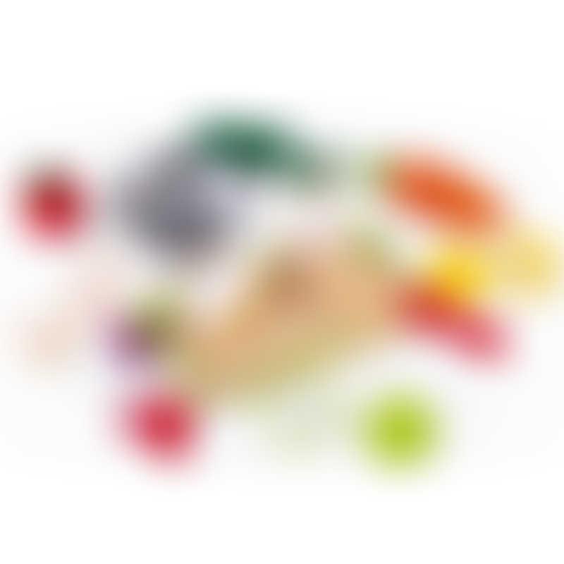 Janod Green Market Fruits & Vegetable Maxi Set