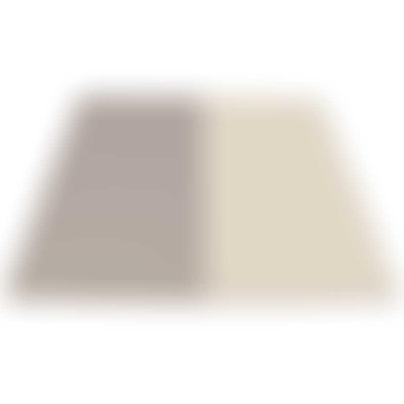 Haenim Toy Petit Reversible Play Mat - (140 x 140 x 4 cm) - Grey/Beige & Pink/Beige