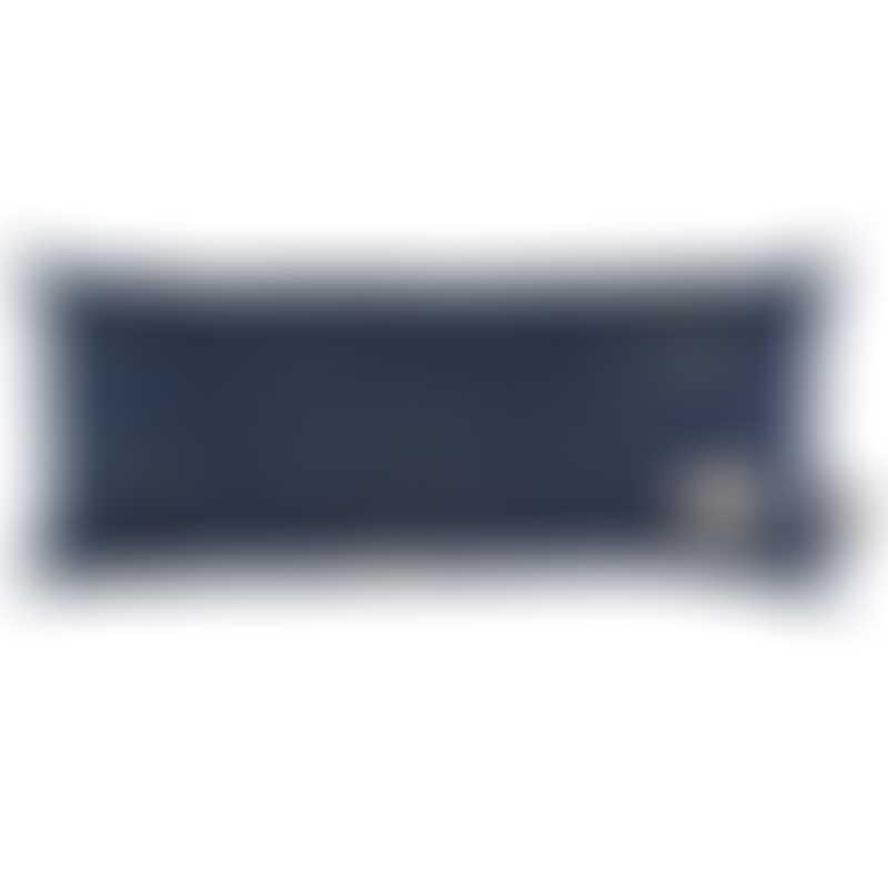 Nobodinoz Hardy Long Cushion - Gold Stella / Night Blue