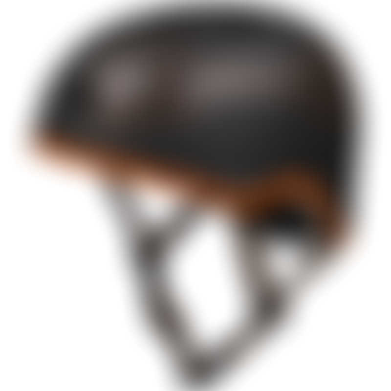 Micro Scooter Helmet - Black/Orange - Medium