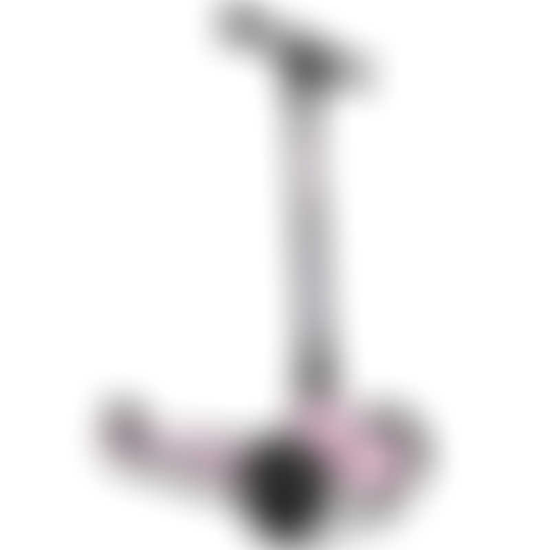 Scoot & Ride HighwayKick 3 (3 year+) (3 Wheels) - Rose with LED