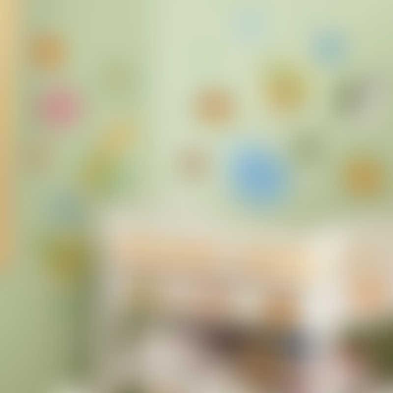 RoomMates Jungle Animal Polka Dot Peel & Stick Wall Decals