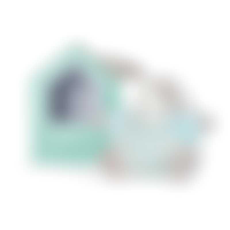 Kaloo Bebe Pastel Chubby Rabbit Aqua & Cream - Medium 25cm