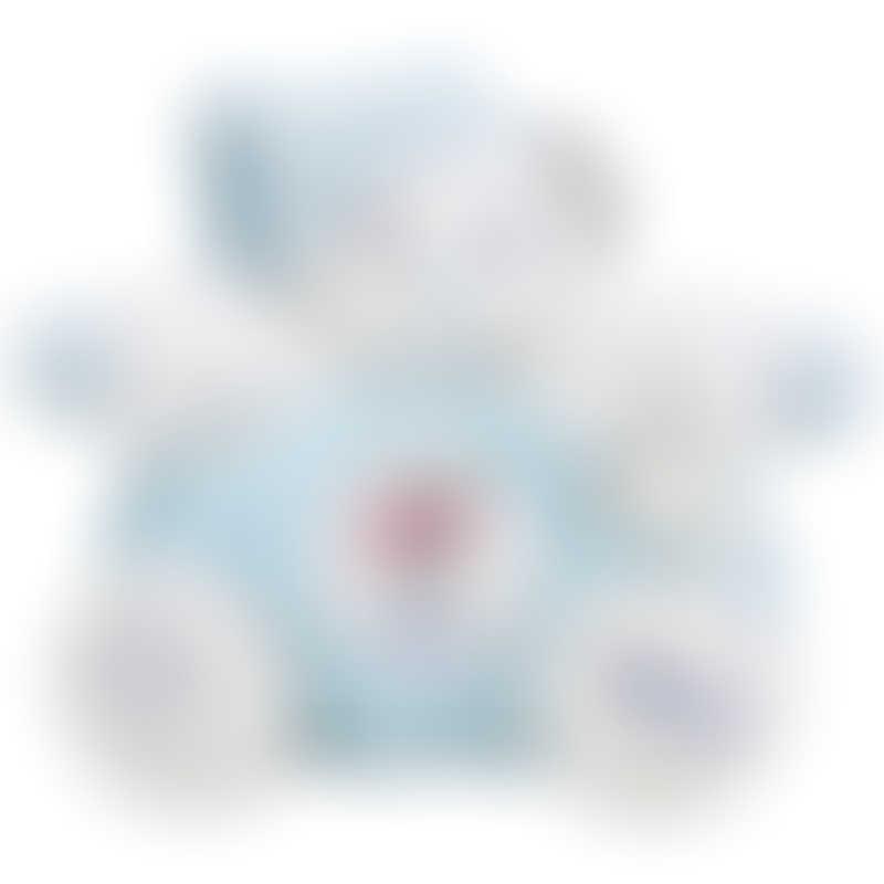 Kaloo Imagine Chubby Bear Aqua - Medium 25cm