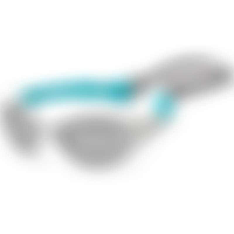 KOOLSUN Flex Kids Sunglasses - White Aqua (3-6 yrs)