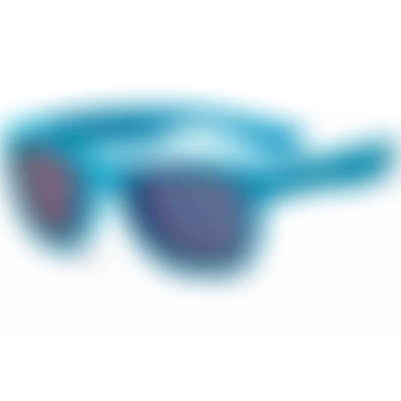 KOOLSUN Wave Kids Sunglasses - Neon Blue (1-3 yrs)