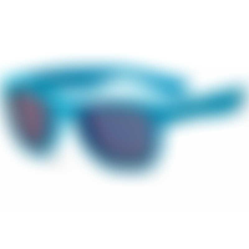 KOOLSUN Wave Kids Sunglasses - Neon Blue (3-6 yrs)