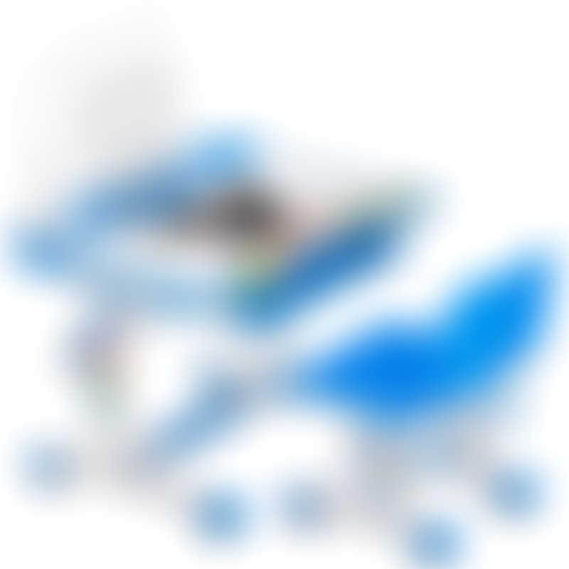 Kumamon Ergonomic Desk and Chair Set Version 2.0 - Blue