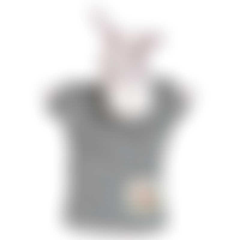 Moulin Roty La Grande Famille Hand Puppet - Barnabé the Donkey 25cm