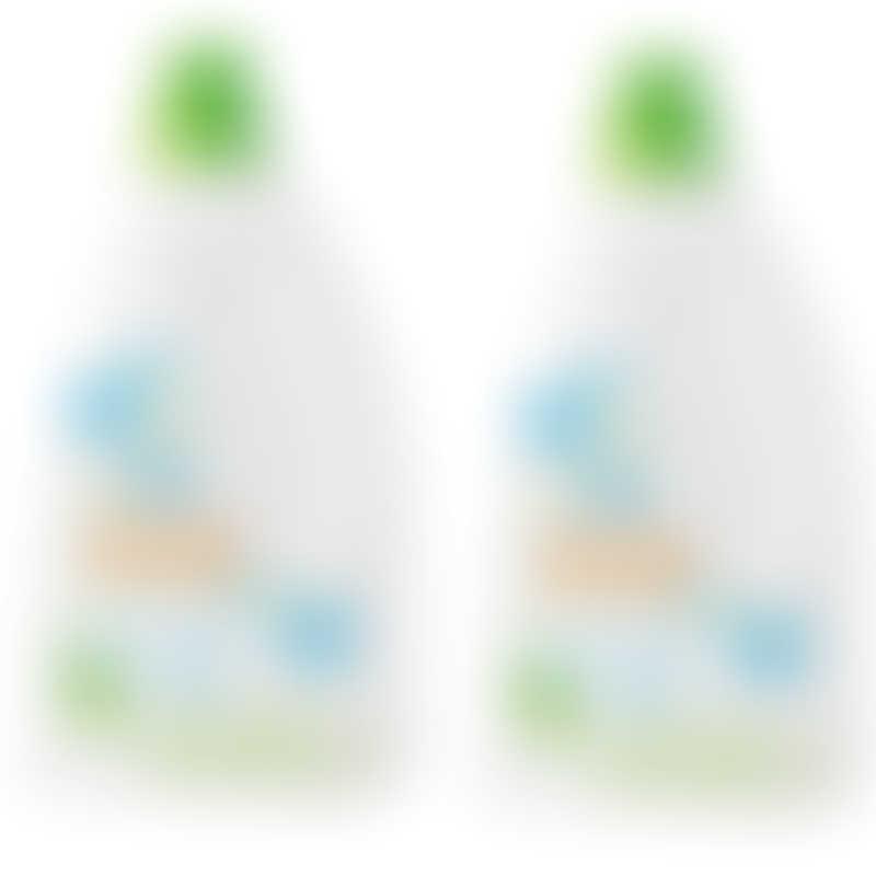 babyganics Laundry Detergent - Fragrance Free (2 x 1.77L) VALUE PACK