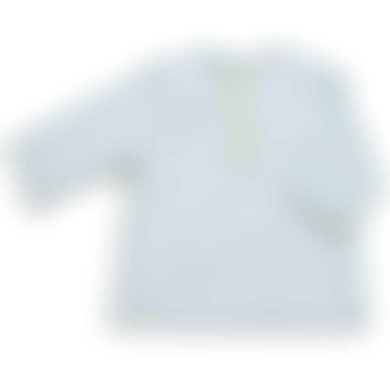 Moulin Roty Les Tartempois Malek Blue Polka Dot Shirt 6m+