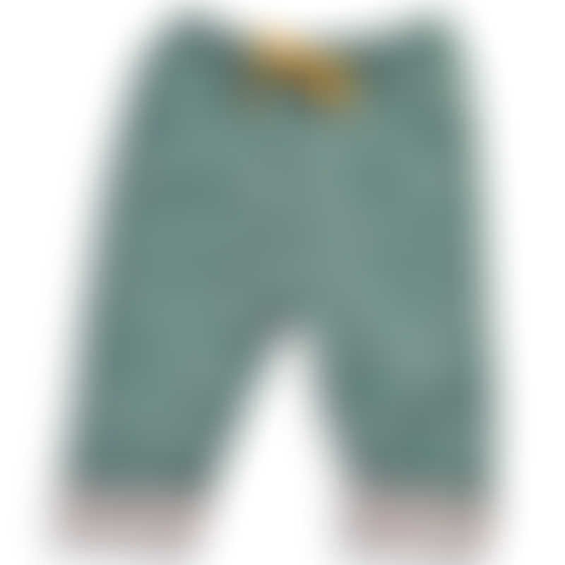 Moulin Roty Les Tartempois Nil Green Trousers