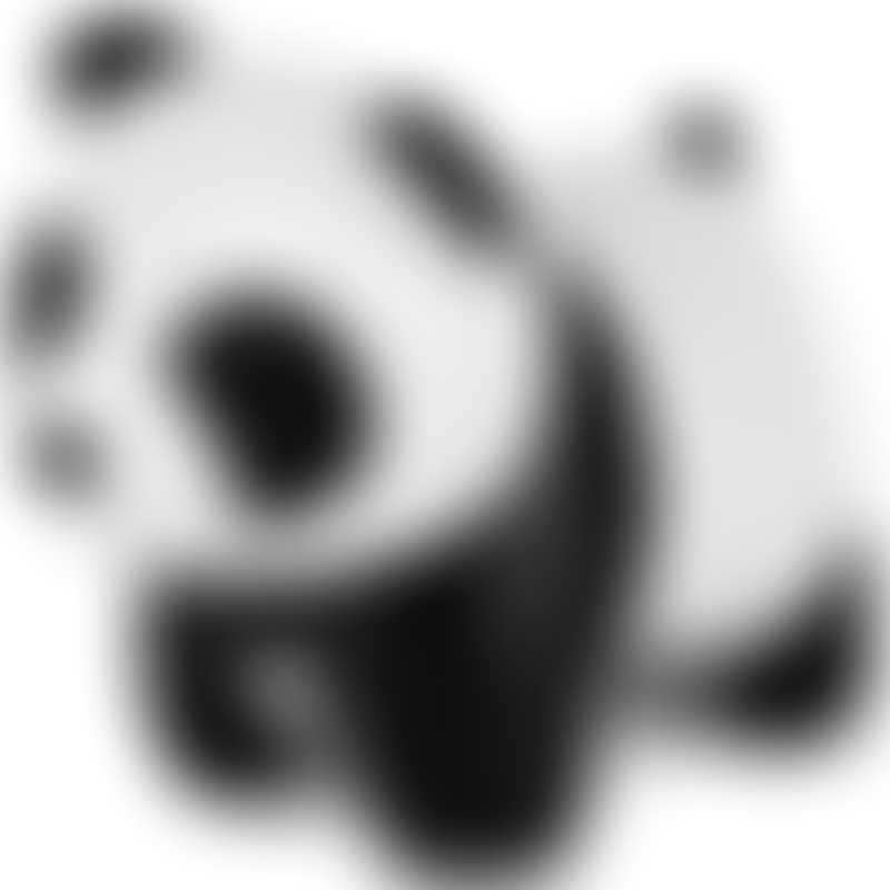 BabyToLove Little Big Friends Tiny Friends - Luca the Panda