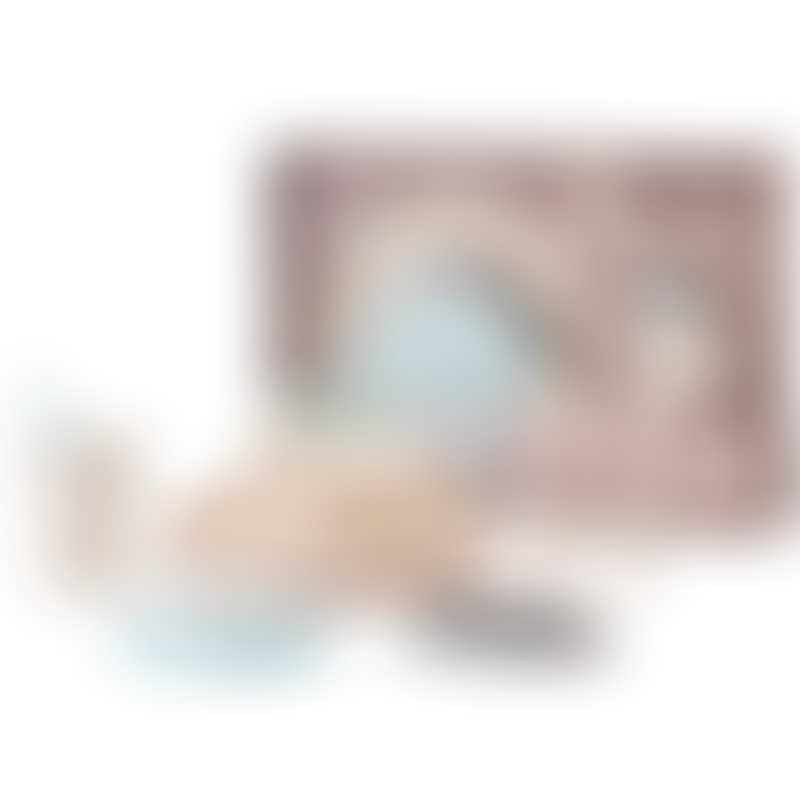 Miniware Little Foodie Set - Vanilla / Aqua