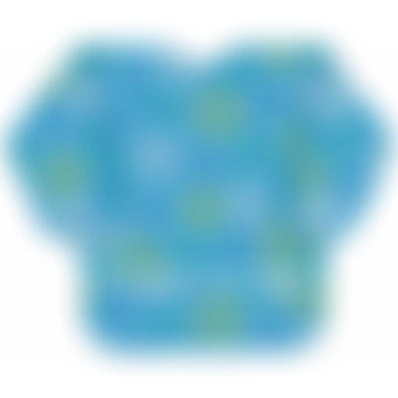 Bumkins Long Sleeved Art Smock - Blue Groove