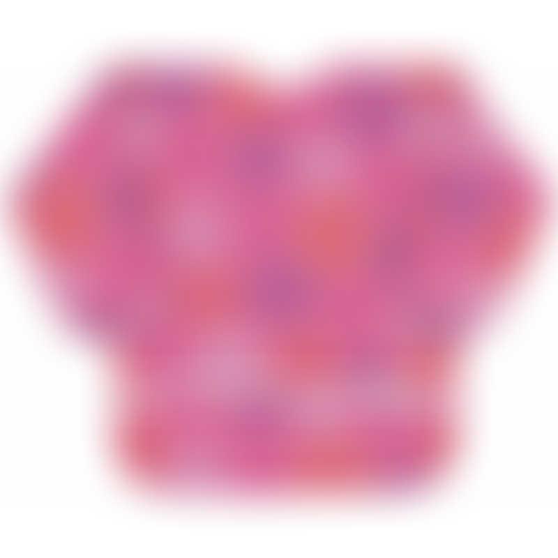 Bumkins Long Sleeved Art Smock - Pink Groove