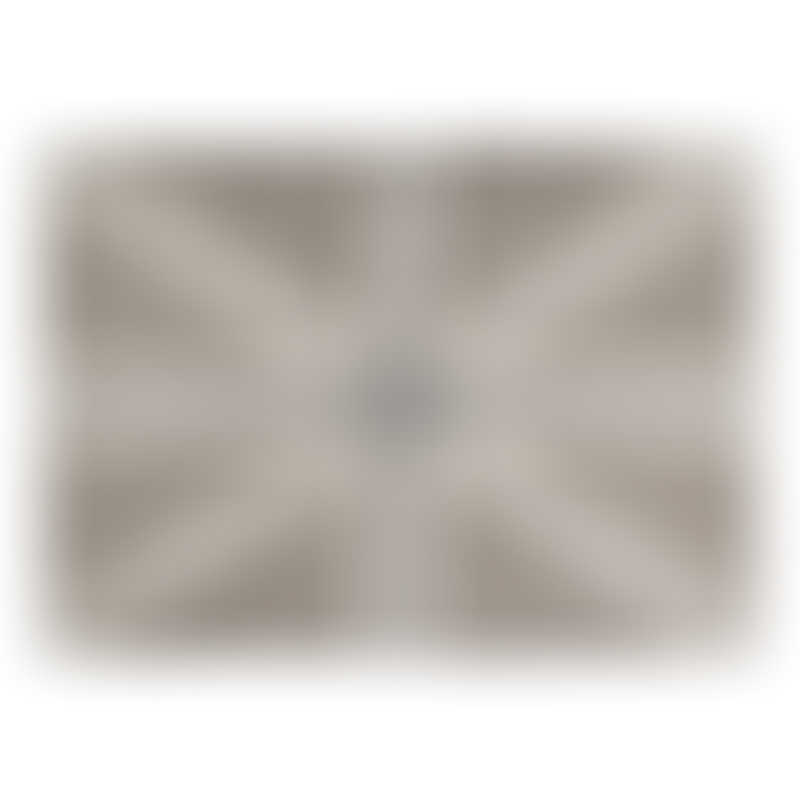 Lorena Canals UK Flag Linen - Grey 140x200cm (Rug)