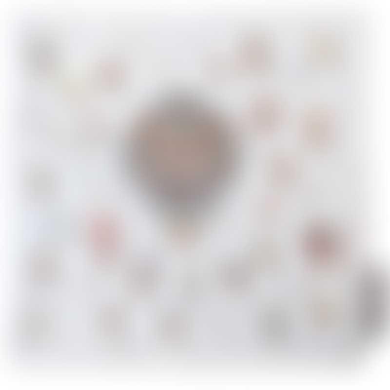 Atelier Choux Mini Towel - Hot Air Balloons